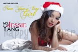 Meet our first New Year's Eve Girl...Jessie Yang